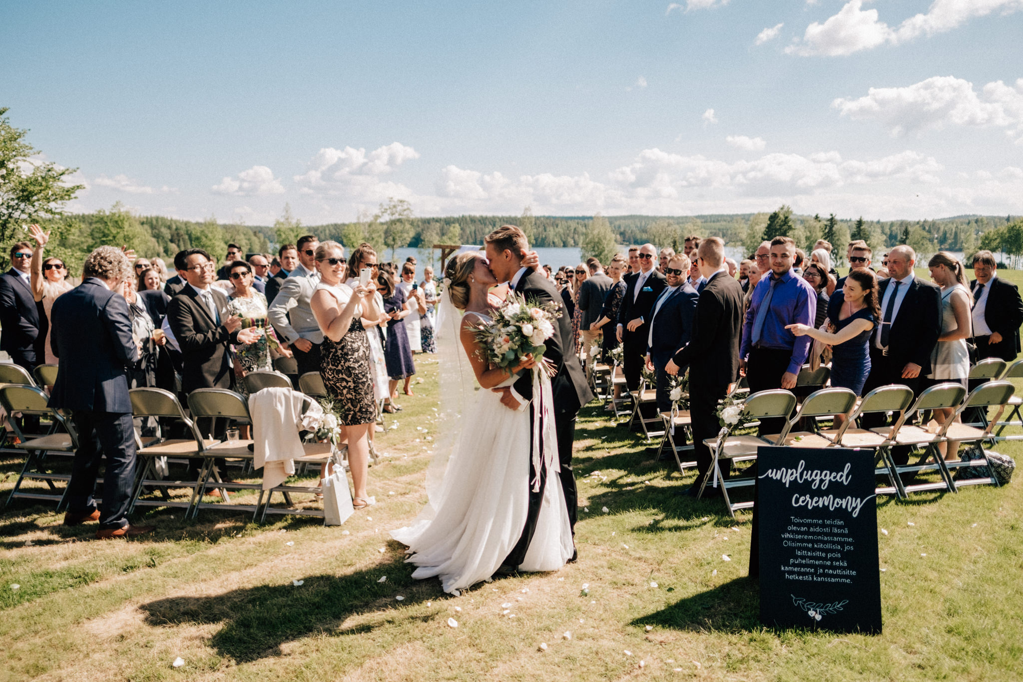 midsummer wedding in finland